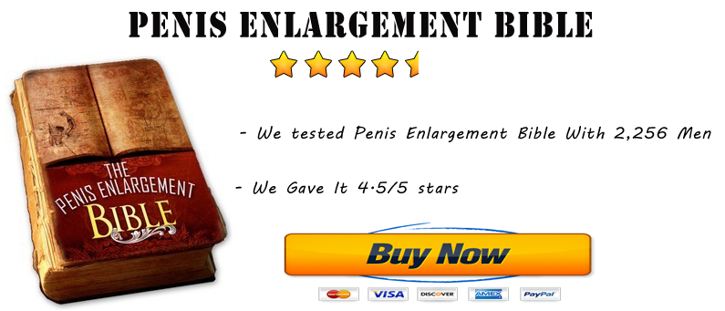 Penis enlargement bible book